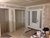 Residential Drywall and taping. 204-588-4235