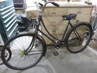 ANTIQUE 1933 CCM CRESENT BIKE ALL ORIGINAL GREAT DECORE PIECE as