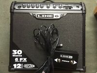 Line 6 Spider 3 - 30w / 12in Celestion / Line 6 Foot Switch