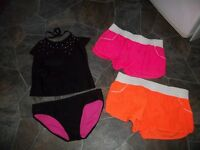 Girl's size 14/16 Bathing Suit with shorts.......