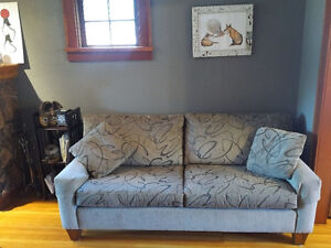 couch and chair from Fathers Furniture for sale!  Premium qualit
