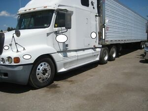 2001 Freightliner Century truck with 2004 Utility reefer