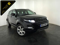 2012 RANGE ROVER EVOQUE PURE TECH SD4 4WD SERVICE HISTORY FINANCE PX