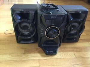Sony 3 piece Stereo set