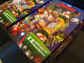 2 X OFFICIAL MARVEL Avengers Christmas Crackers for Celebrations