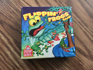 Flipping Frogs Game