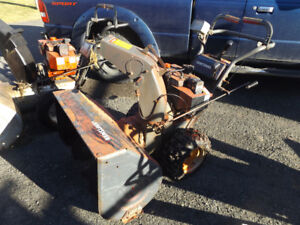 (2)   10 hp craftsman snowblowers