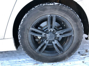 Pirelli Winter Tires 225/55R16 + BMW Mags (Jantes)