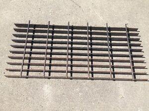 Rebar Alternative - Steel grate