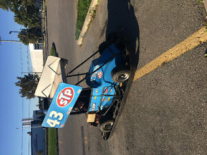 STP Richard petty replica go kart !!