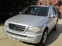 Mercedes-Benz ML270 TD auto CDI 1 Previous Owner 98K From New FSH