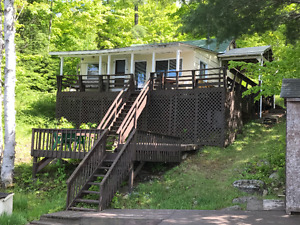 180 Cottage Road on McCarrel Lake, Echo Bay WATERFRONT FOR SALE