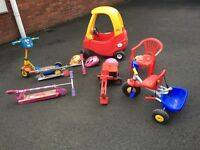 Outdoor toys - used