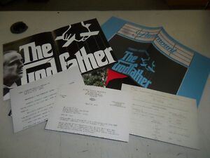 THE GODFATHER THE OFFICIAL MOTION PICTURE ARCHIVES - HARDCOVER Windsor Region Ontario image 6