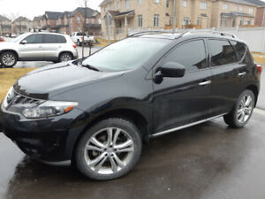 2011 Nissan Murano, LE AWD, Black in Black,