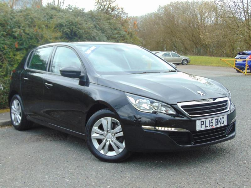 peugeot 308 1 2 puretech 130 active 5 door black 2015 in nelson lancashire gumtree. Black Bedroom Furniture Sets. Home Design Ideas