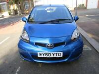 2010 TOYOTA AYGO 1.0 VVT i Blue 5dr MMT Automatic