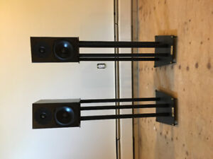 Totem Mites (bookshelf speakers with stands)