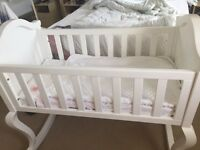 VIB Crib and mattress £50