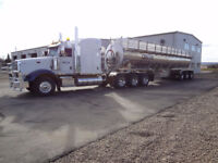 Experienced Class 1 Fluid Hauling Driver