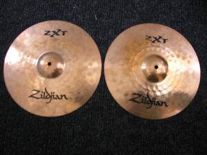 Zildjian ZXT rock  Hi Hat ( pair )