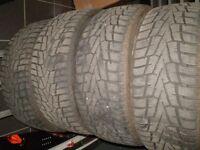 pneu d'hiver nexen windguard 225/45r17