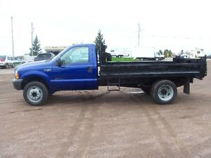 Ford F450 with 12ft dump 7.3 diesel