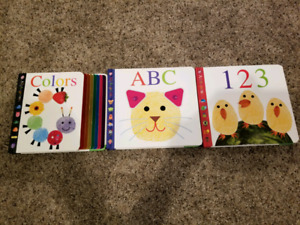 Alphaprints Board Book Set