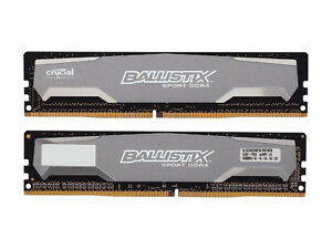 16GB Mémoire Vive DDR4 (4x4GB) Ballistix Sport