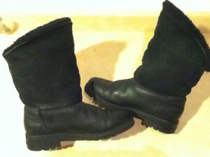 Women's Sorel Black Winter Boots Size 7.5 London Ontario image 6