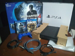PS4 Slim Uncharted 4 Bundle + Far Cry Primal