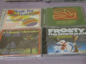 FOR SALE 4 NEW CHRISTMAS CD'S A COUNTRY CHRISTMAS-MUSIC FOR THE