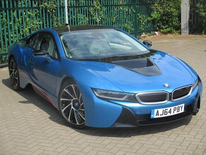 2015 Bmw I8 Coupe 2dr Auto Petrol Electric Blue Automatic In