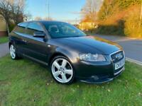 2006 Audi A3 2.0 T FSi S line Special Edition 3dr FULL LEATHER LAST OWNER 10 YEA