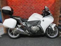 HONDA VFR1200 F A ABS LOW MILEAGE 3 PART LUGGAGE