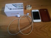 iPhone 4s White 16GB any network