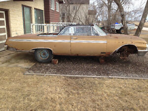 RARE 1962 FORD SUNLINER GALAXIE CONV NEEDS RESTORATION