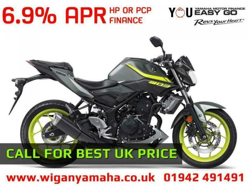 YAMAHA MT-03 ABS 320cc A2 LICENCE COMPATIBLE NAKED SPORTS BIKE    | in  Wigan, Manchester | Gumtree