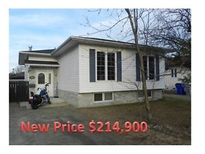 Motivated!!!! with quick possession.  4 bed bungalow