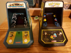 Coleco Midway Tabletop Arcade Games