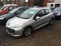 Peugeot 207 sport 1.6 diesel hdi 08 reg excellent condition 60 mpg £30 road tax