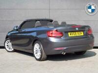2018 BMW 2 Series 218i SE Convertible Convertible Petrol Manual