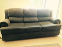 Pull out sofa & matching love seat
