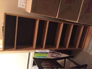 Wood bookshelf - $20