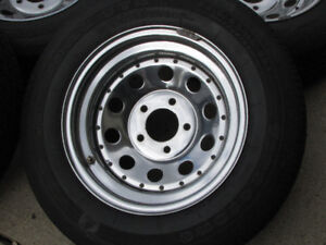4 Firestone/ Firehawk Summer Tires/ Chrome Chevrolet Sport mags