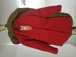 For sale canada goose red Victoria parka not used with tag