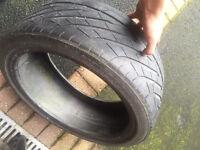 Yokohama 205/40/17R part worn tyre