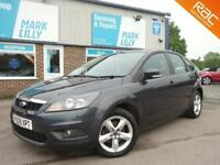 2009 Ford Focus 1.6 ( 100ps ) Zetec GREY ONLY 70,000 MILES STUNNING CAR !