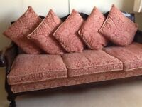 Fabulous antique bergere sofa. £175