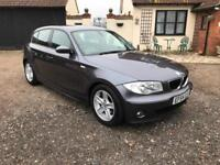 BMW 118d 2.0TD Sport *Full leather, 143,000 miles only. 6 speed*